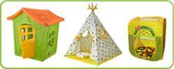 Домики, вигвамы, палатки