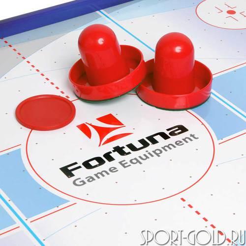 Настольный аэрохоккей Fortuna Blue Ice Hybrid HR-31 Фото 3