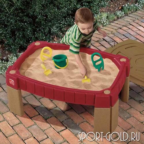 Столик для игры с песком Step 2 с треком для машинок, 159400 Фото 1