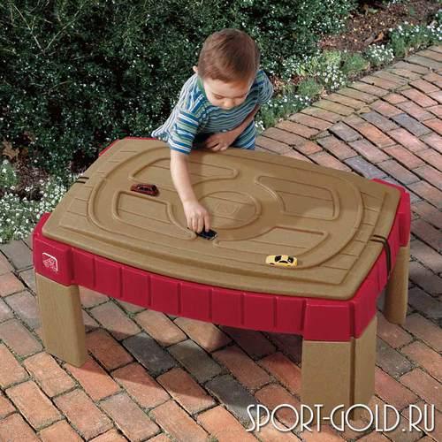 Столик для игры с песком Step 2 с треком для машинок, 159400 Фото 2