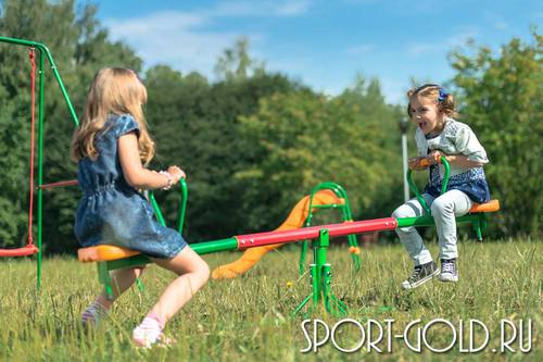 Детские качели-балансир Hasttings - для дачи Фото 1
