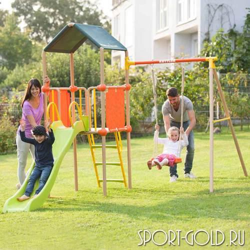 Детский спортивный комплекс для дачи Kettler Play Tower с качелями Фото 1