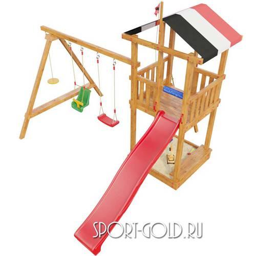 Детский спортивный комплекс для дачи САМСОН Амстердам Фото 1