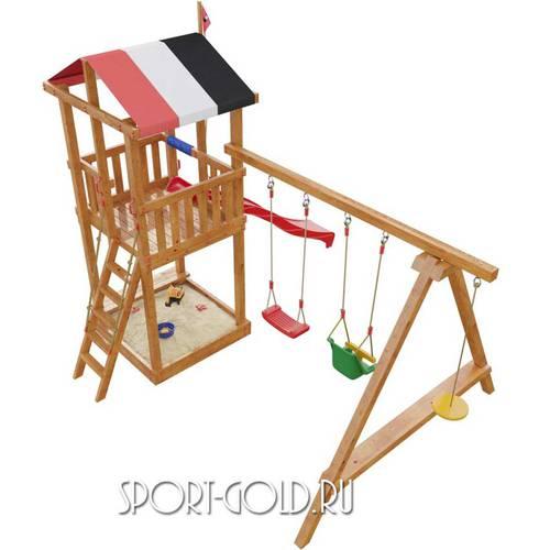 Детский спортивный комплекс для дачи САМСОН Амстердам Фото 2