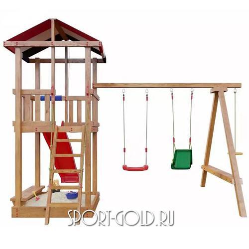 Детский спортивный комплекс для дачи САМСОН Амстердам Фото 5