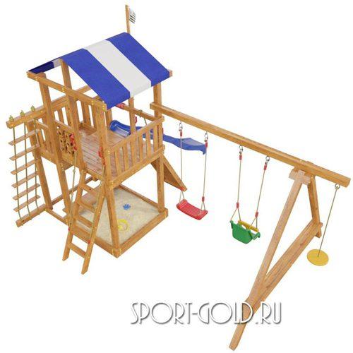 Детский спортивный комплекс для дачи САМСОН Бретань Фото 2