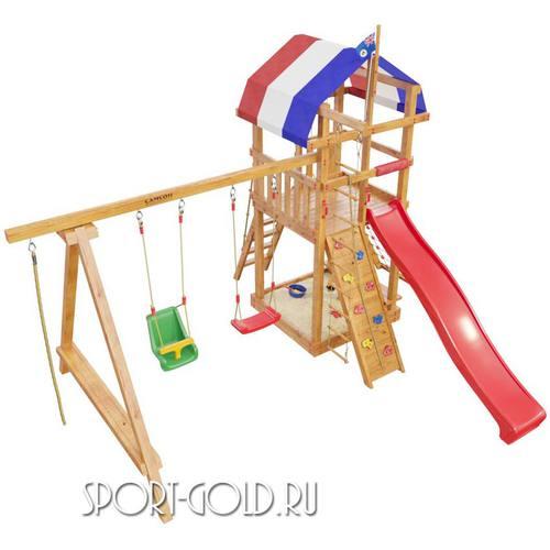 Детский спортивный комплекс для дачи САМСОН Тасмания Фото 2