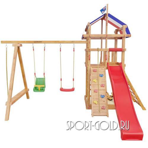 Детский спортивный комплекс для дачи САМСОН Тасмания Фото 4