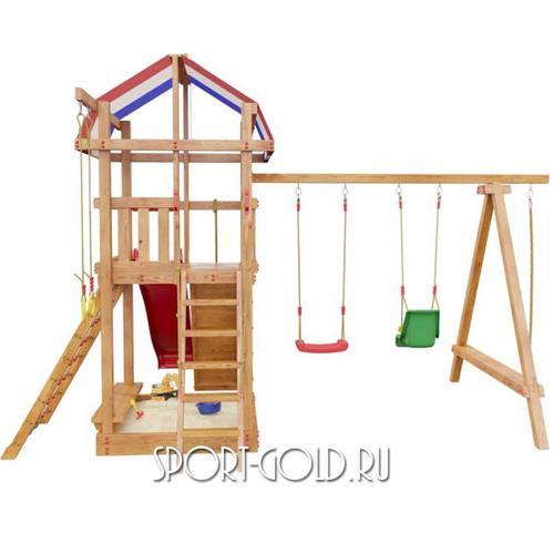 Детский спортивный комплекс для дачи САМСОН Тасмания Фото 5