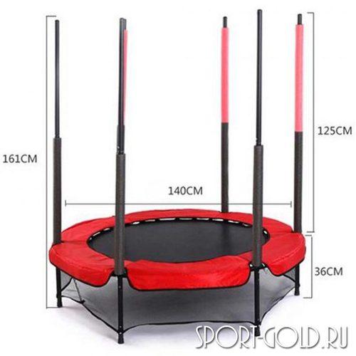 Батут EVO Jump 4,5 ft с сеткой Фото 1
