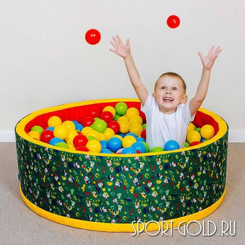 Сухой бассейн с шариками ROMANA Веселая поляна Фото 1