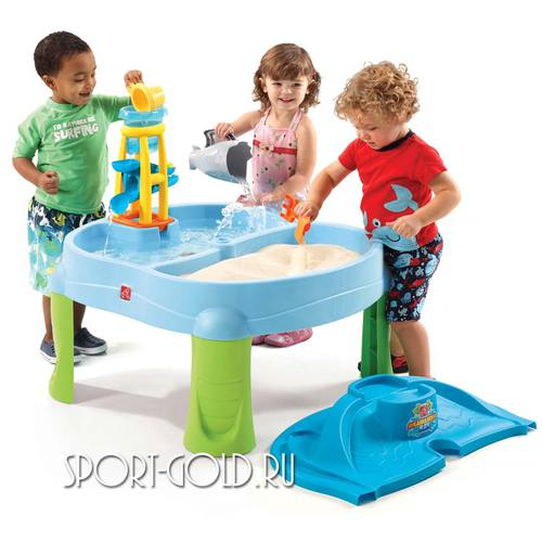Столик для игр с песком и водой Step2 Водопад Фото 1