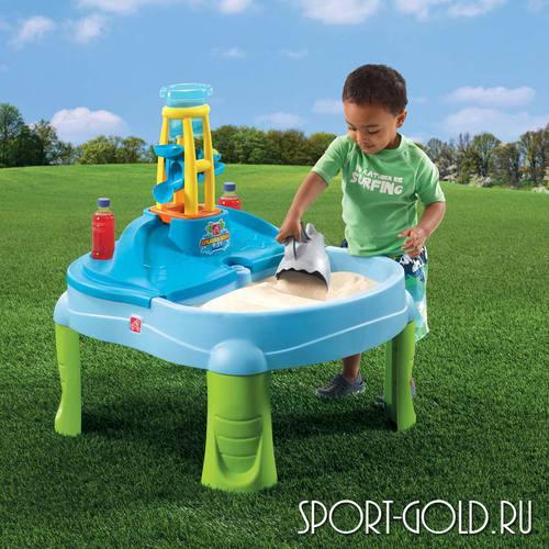 Столик для игр с песком и водой Step2 Водопад Фото 3