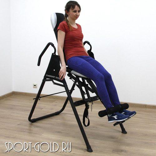 Инверсионный стол DFC SJ7200B с сиденьем Фото 3