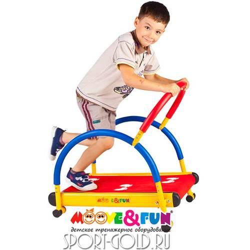 Детская беговая дорожка Moove&Fun SH-01C с компьютером Фото 2