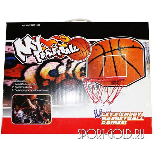 Аксессуар для ДСК АССОРТИ Баскетбольный щит с мячом BS01538 Фото 1
