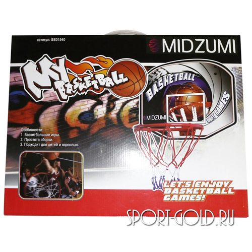 Аксессуар для ДСК Midzumi Баскетбольный щит с мячом и насосом BS01540 Фото 4
