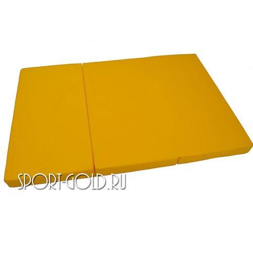 Спортивный мат АССОРТИ №4, 150х100х10 см, складной, 3 секции Фото 2