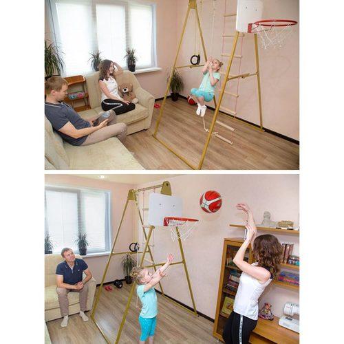 Детский спортивный комплекс КАЧАЙ Макси (без матов) К-004 Фото 5
