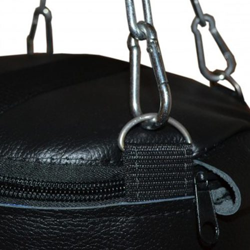 Боксерский мешок РОККИ РОККИ 70х30 см, 20 кг, кожа Фото 1