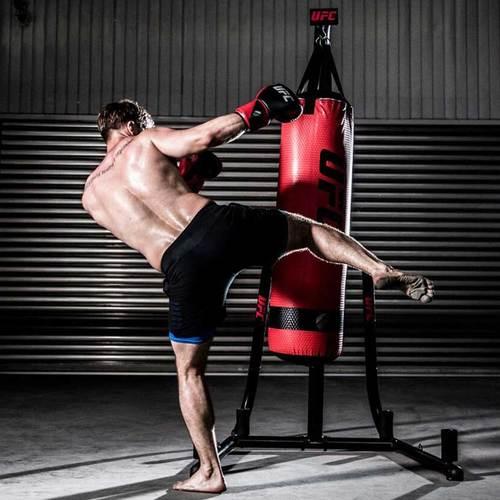 Боксерский мешок UFC ММА 36 кг, 117 х 33 х см, ПВХ Фото 3