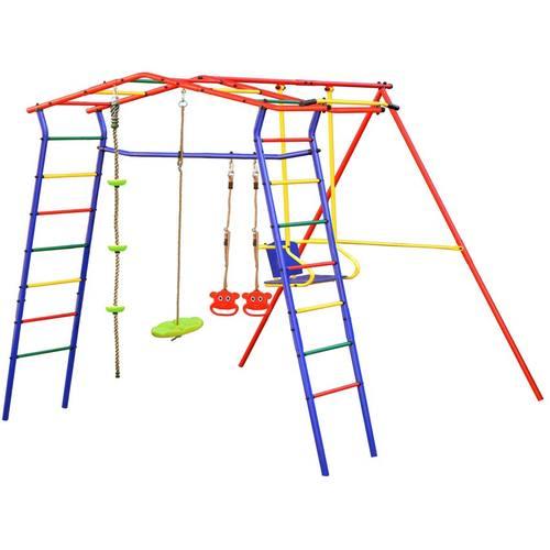 Детский спортивный комплекс для дачи КМС Игромания Дачный Фото 1