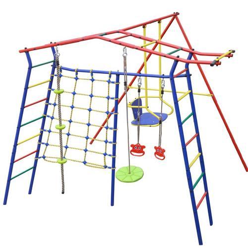 Детский спортивный комплекс для дачи КМС Игромания-1 Скалолаз Фото 2
