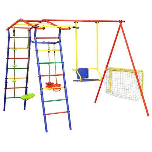 Детский спортивный комплекс для дачи КМС Игромания-2 Футбол Фото 1