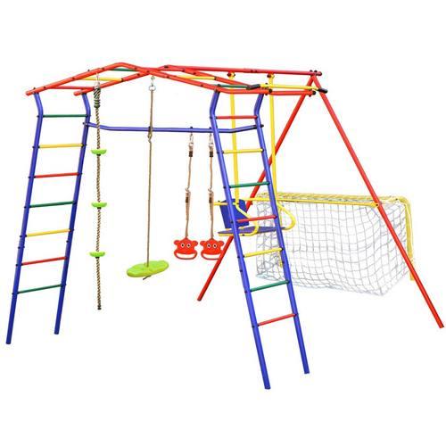 Детский спортивный комплекс для дачи КМС Игромания-2 Футбол Фото 2