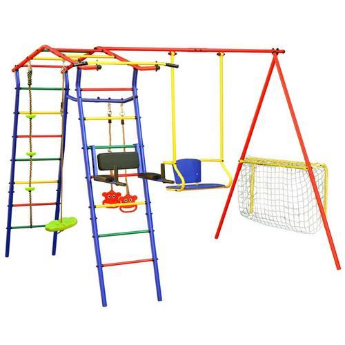 Детский спортивный комплекс для дачи КМС Игромания-6 Спорт Фото 1