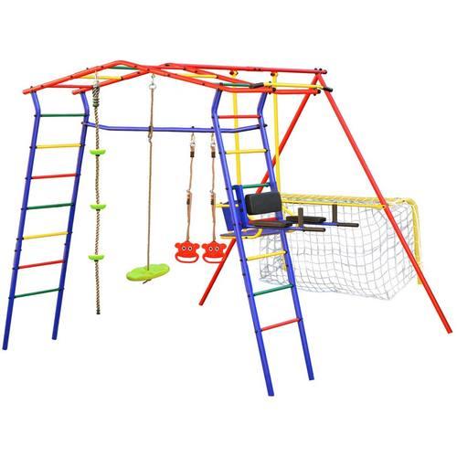 Детский спортивный комплекс для дачи КМС Игромания-6 Спорт Фото 2