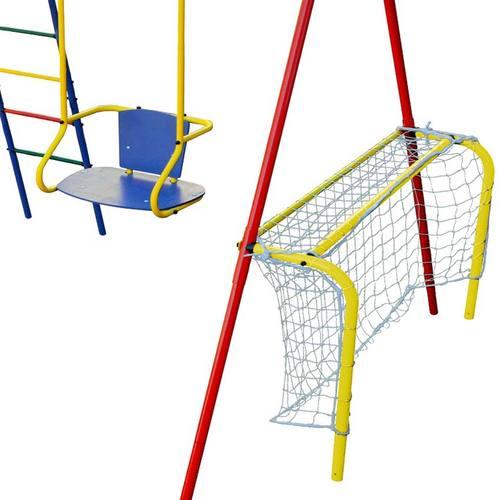 Детский спортивный комплекс для дачи КМС Игромания-6 Спорт Фото 3