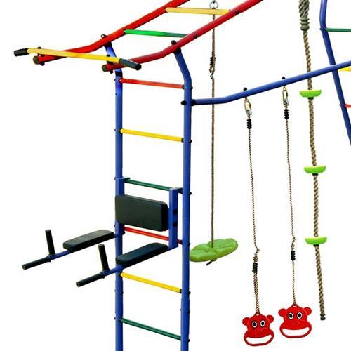 Детский спортивный комплекс для дачи КМС Игромания-6 Спорт Фото 4