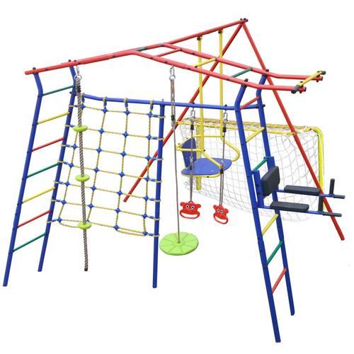 Детский спортивный комплекс для дачи КМС Игромания-7 Атлет Фото 2