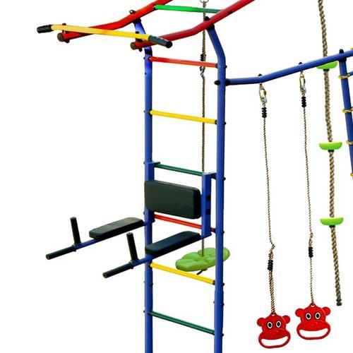 Детский спортивный комплекс для дачи КМС Игромания-7 Атлет Фото 4