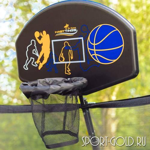 Баскетбольный щит с кольцом Hasttings для батутов Air Game Фото 1