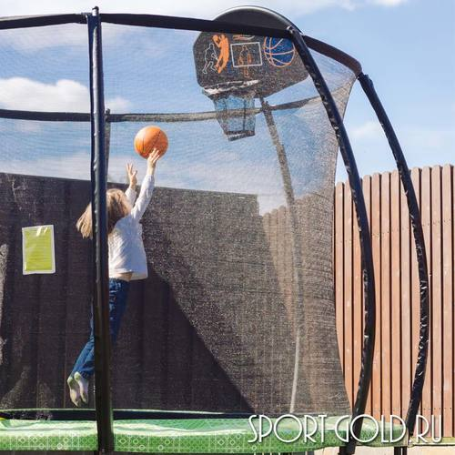 Баскетбольный щит с кольцом Hasttings для батутов Air Game Фото 2