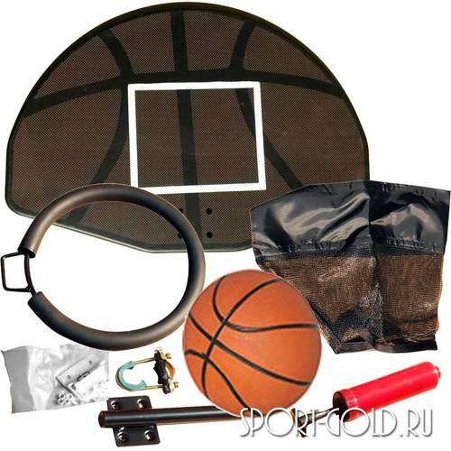 Баскетбольный щит с кольцом DFC BAS-H для батутов Kengoo Фото 2