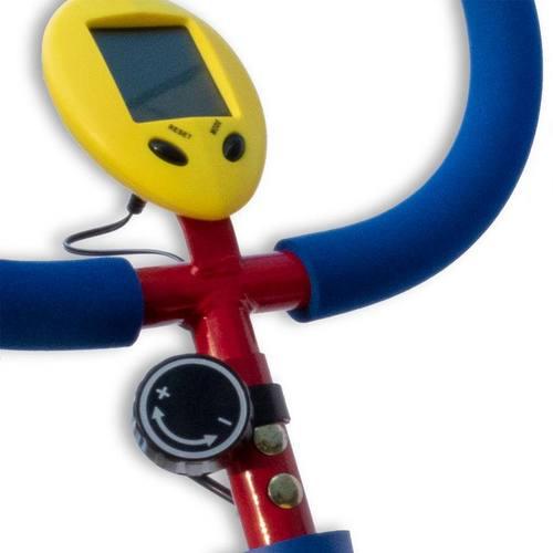 Детский велотренажер Moove&Fun SH-02CB большой с компьютером Фото 4