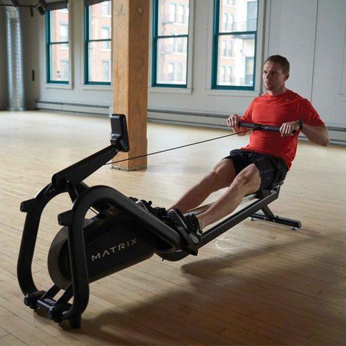Гребной тренажер Matrix New Rower Фото 7