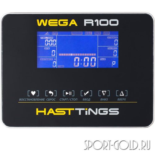 Гребной тренажер Hasttings Wega R100 Фото 4