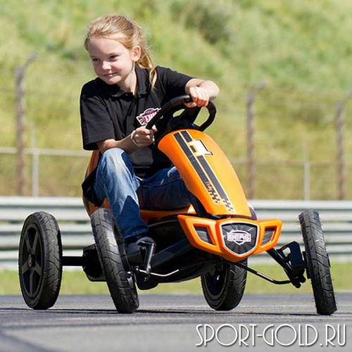 Веломобиль BERG Rally Orange Фото 3