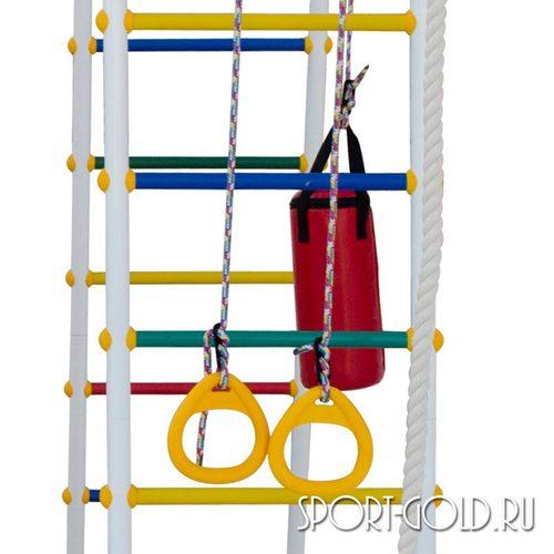 Детский спортивный комплекс для дачи ФОРМУЛА ЗДОРОВЬЯ Street 2 Smile Фото 2