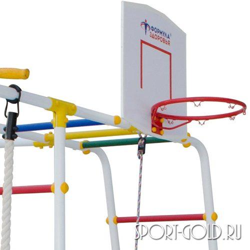 Детский спортивный комплекс для дачи ФОРМУЛА ЗДОРОВЬЯ Street 2 Smile Фото 4
