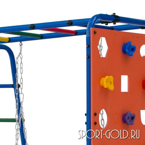 Детский спортивный комплекс для дачи ФОРМУЛА ЗДОРОВЬЯ Street 2 Фото 1