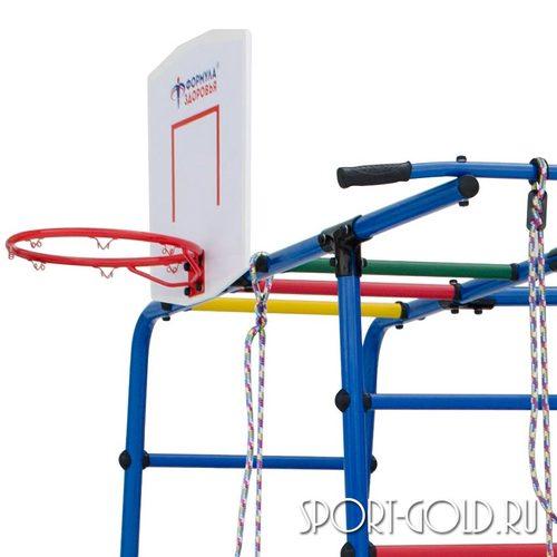 Детский спортивный комплекс для дачи ФОРМУЛА ЗДОРОВЬЯ Street 2 Фото 2