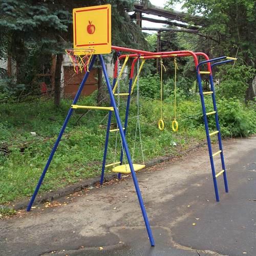 Детский спортивный комплекс для дачи ПИОНЕР Юла Фото 1