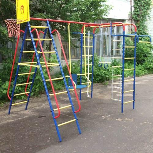 Детский спортивный комплекс для дачи ПИОНЕР Дачный Фото 1
