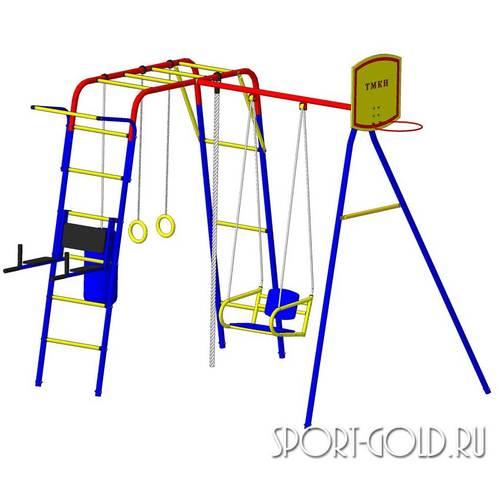 Детский спортивный комплекс для дачи ПИОНЕР Юла Макси Фото 1
