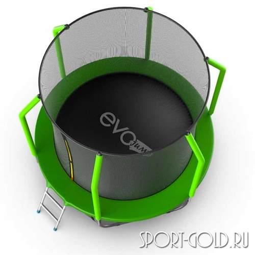 Батут EVO Jump Cosmo 8ft (2,44м) с сеткой и лестницей Фото 1
